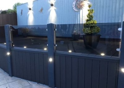 Decking and electrics